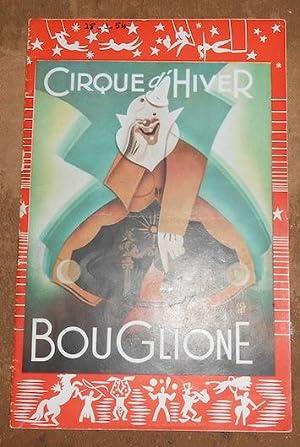 Programme du Cirque d'Hiver Bouglione saison 1953-54