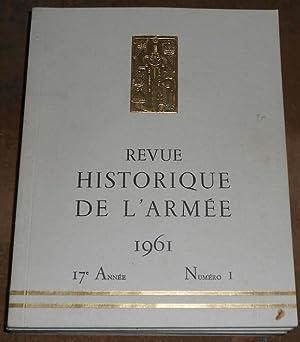 Revue Historique De L'Armée 1961: M. Klein-Rebour, colonel