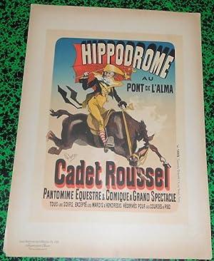 Affiche Jules Chéret Cadet Roussel Les Maîtres: Jules Chéret