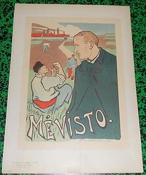 Affiche Ibels Mévisto Les Maîtres de l'Affiche: Henri-Gabriel Ibels
