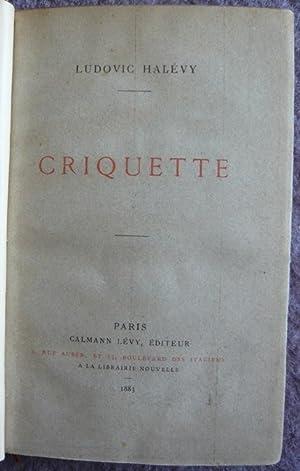 Criquette: Ludovic Halévy