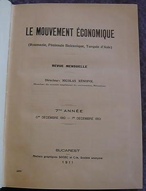 Le Mouvement Economique (Roumanie, Péninsule Balcanique, Turquie: Nicolas Xénopol, I.