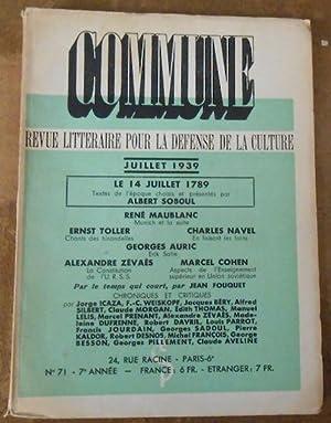 Commune n°71: Albert Soboul, René
