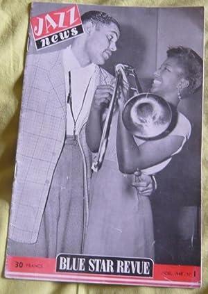 Jazz News - Blue Star Revue puis: Boris Vian,Frank Tenot,