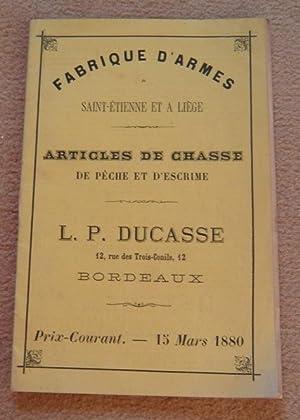 Fabrique d'armes à Saint-Etienne et à Liège
