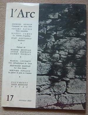 L'Arc n°17: Georges Henein, Cesare