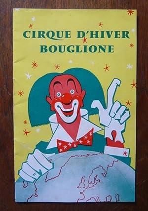 Programme de cirque du Cirque d'Hiver Bouglione: Collectif