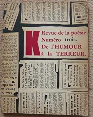 K Numéro trois De l'Humour à la: Maurice Henry, Lewis