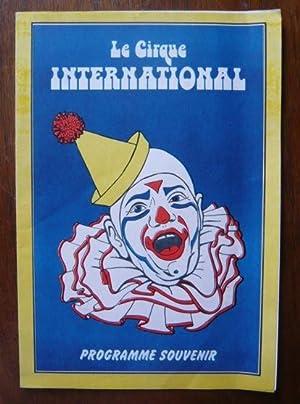 Programme de cirque de Le Cirque international: Le Cirque international