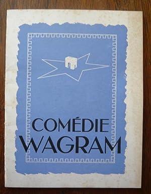 Programme de théâtre de la Comédie Wagram: théâtre de la
