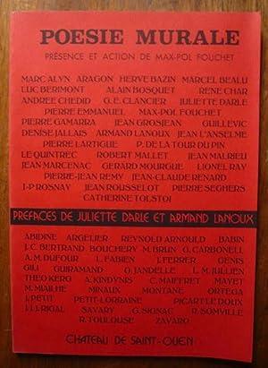 Poésie murale III: Alyn, Aragon, Bazin,
