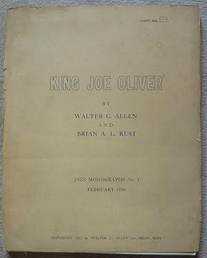 King Joe Oliver: Walter C. Allen