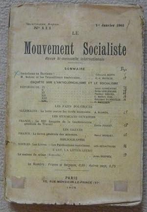 Le Mouvement Socialiste 1903: Edouard Berth, Rosa