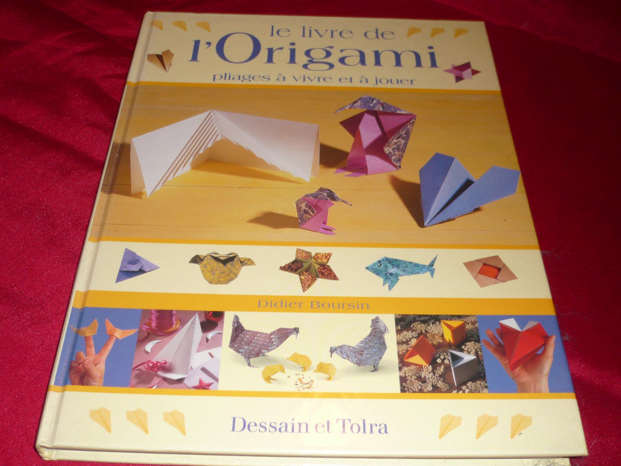 Le Livre De L Origami Pliages A Vivre Et A