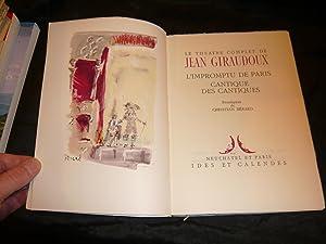 L'Impromptu De Paris Cantiques Des Cantiques: Giraudoux Jean