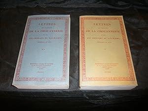 Lettres Sur l'Origine De La Chouannerie et Sur Les Chouans du Bas-Maine: Duchemin Descepeaux ...