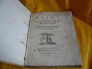 Laus Asini: Heinsius Daniel