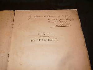 Eloge Historique De Jean-Bart, Chef D'Escadre Des Armées Navales De France, Chevalier ...
