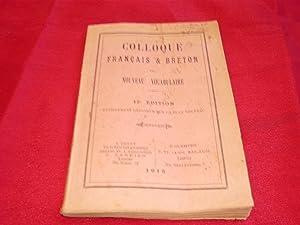 Colloque Français & Breton Ou Nouveau Vocabulaire. 12e Edition Entièrement ...