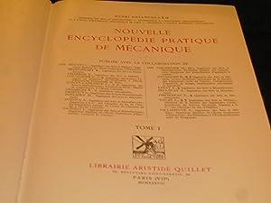 Nouvelle Encyclopédie Pratique De Mécanique. (Tomes I Et II).: Desarces Henri