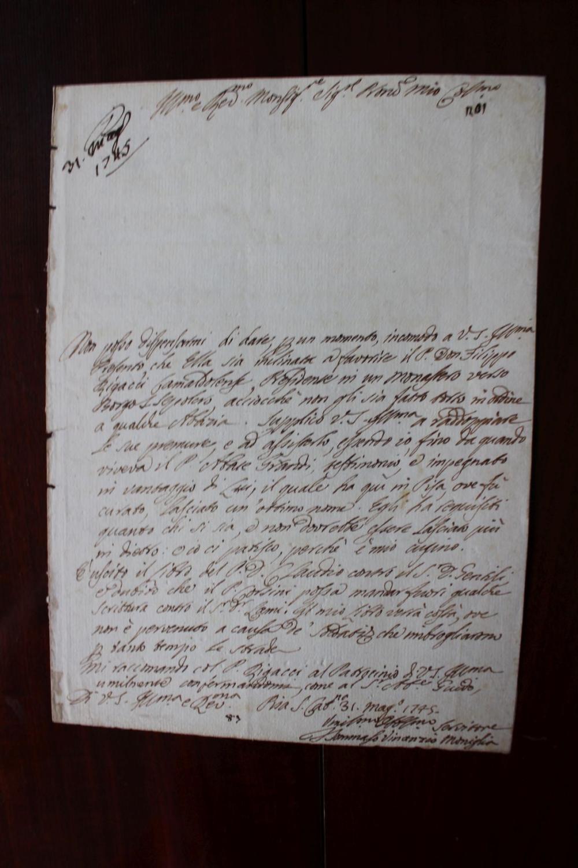 Lettre_autographe_signée_Moniglia_Tommaso_Vincenzo_16861767_écrivain_italien_professeur_de_philosophie_et_logique_à_Pise_Bon_Couverture_rigi