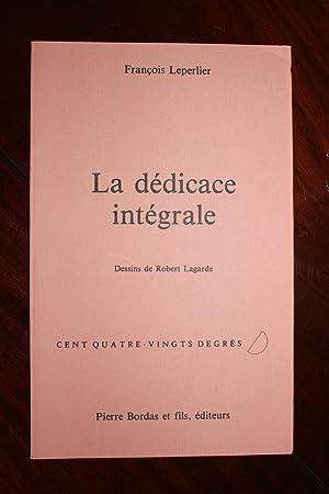 La dédicace intégrale.: François Leperlier (n°0042)