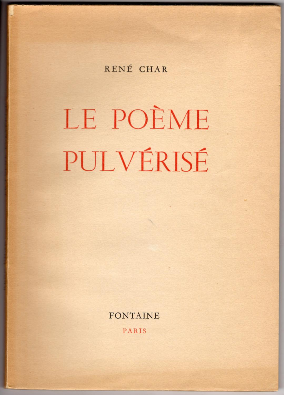 Le Poème Pulvérisé