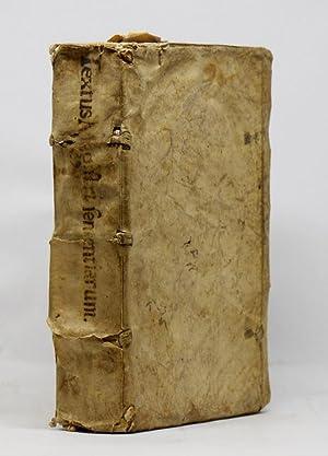 TEXTUS MAGISTRI SENTENTIARUM IN QUATUOR SECTUS LIBROS: LOMBARD Pierre /
