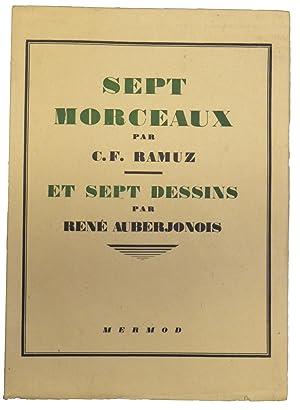 SEPT MORCEAUX.: RAMUZ C.-F. /