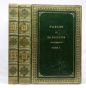 FABLES DE LA FONTAINE ILLUSTREES PAR J.: LA FONTAINE, Jean