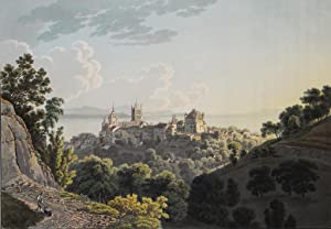 Voyage pittoresque au lac de Genève ou: WETZEL, Johann Jakob
