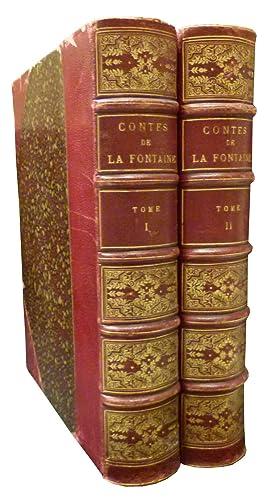 CONTES DE LA FONTAINE avec illustrations de: LA FONTAINE Jean