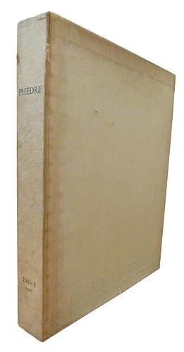 PHEDRE, Tragédie en cinq actes.: Jean RACINE /
