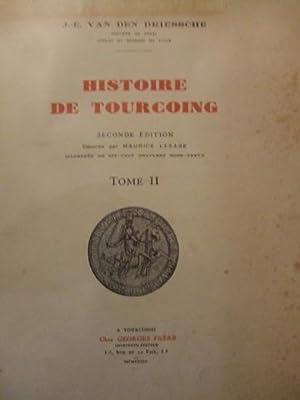 HISTOIRE DE TOURCOING: J.-.E. VAN DEN