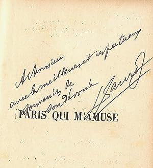 Paris qui s'amuse. ( Dédicacé ): Léon Xanrof - Lourdey.