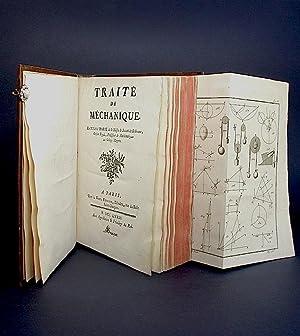 Traité de Méchanique.: Marie, L'Abbé (Joseph François).
