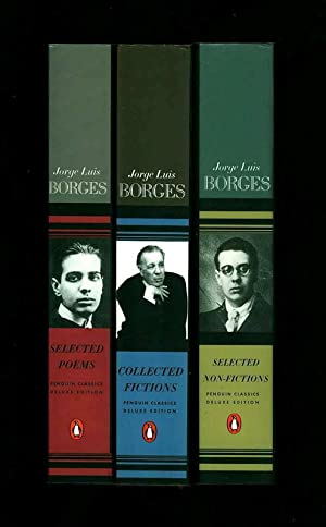 Collected Fictions. [AND:] Selected Poems. [AND:] Selected Non-Fiction. [LOT OF 3 BRAND-NEW BOOKS ...