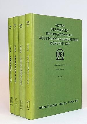 Akten des vierten Internationalen Ägyptologen-Kongresses, München 1985. I. Methoden und ...