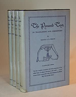 The Pyramid Texts in Translation and Commentary, I-IV. [FOUR VOLUMES].