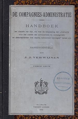 """De compagnies-administratie. Handboek ten dienste van hen, die met de toepassing der """"..."""