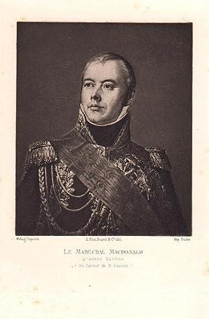 Souvenirs du Maréchal Macdonald Duc de Tarente. Avec une introduction par Camille Rousset. ...