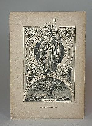 Jubel-Kalender zur Erinnerung an die Völkerschlacht bei Leipzig vom 16.-19. Oktober a.d. 1813....