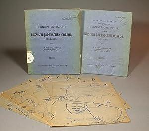 Beknopt overzicht van den Russisch-Japanschen oorlog, 1904-1905. I. Text; II. Atlas. [TWO VOLUMES]....