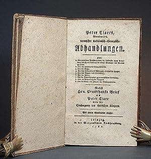 Peter Clare's, Wundarzts, Vermischte medicinisch-chirurgische Abhandlungen (.). Nebst Hrn. ...