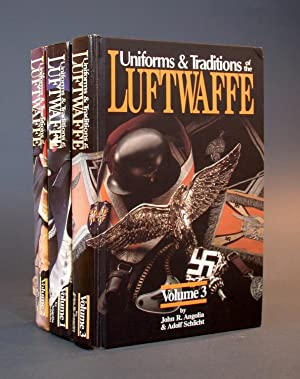 Uniforms and Traditions of the Luftwaffe, I-III. [THREE VOLUMES]. [COLLECTOR'S SET, NUMBERED &...
