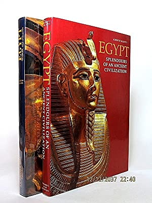 Egypt: Temples, Men and God. [AND:] Egypt: Splendours of an Ancient Civilization. [LOT OF 2 BOOKS].