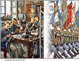 Bilderbuch vom deutschen Heer.: Benary, A. Illustrated by H. Skarbina.