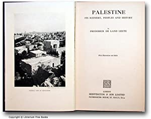 Palestine: Its Scenery, Peoples and History.