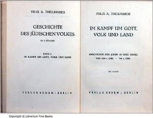 Im Kampf um Gott, Volk und Land: Geschichte der Juden in Erez Israel von 1300 v. Chr. - 300 n. Chr....