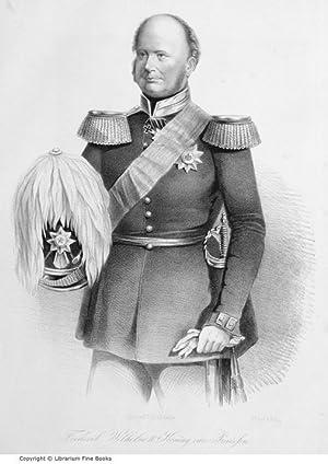 Crimean War Portraits] Frederik Wilhelm IV, Koning van Pruissen (caption title). [LITHOGRAPH PRINT]...